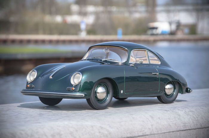 Handcrafted - Scale 1/8 - Porsche 356 Coup - Metallic Green - Unique Model