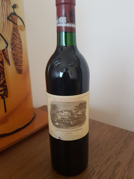 1985 Chateau Lafite Rothschild, Pauillac - 1 bottle (75cl)