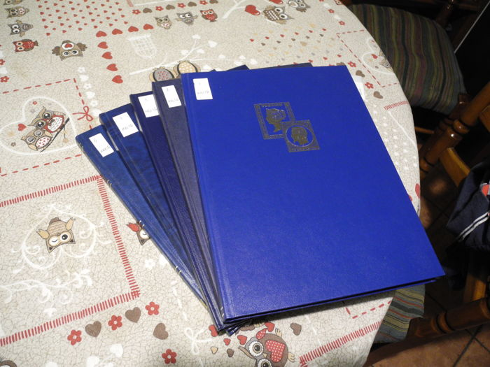 Great Britain and Malta 1990-2010 - in a Davo album and 5 albums