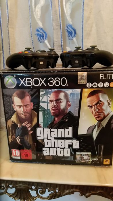 Xbox360 Elite - Limited edition edition - Grand Theft Auto