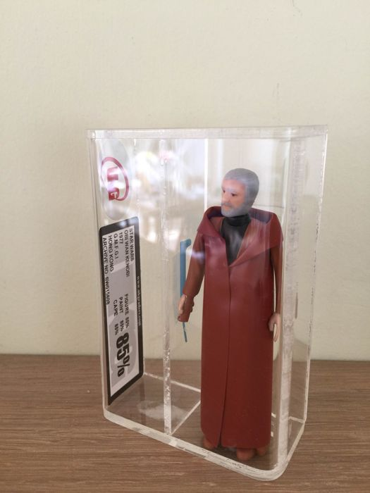 Star Wars Vintage - UKG 85% NM+ - Ben Kenobi - (1977)