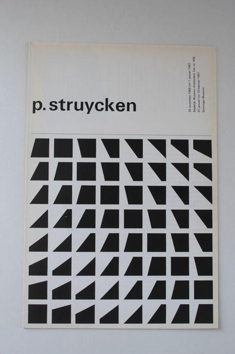 Peter Struycken  - Peter Struycken (lot met 6 publicaties)