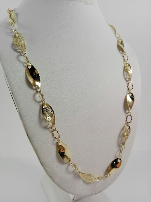9e57d3d6bb7 Women s  Neonero  necklace in 18 kt yellow gold Weight 9.7 g - Catawiki