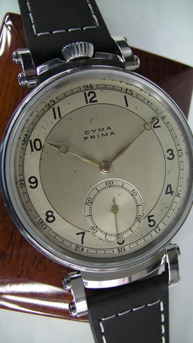Cyma - Prima- marriage watch - 303859 - Heren - 1901-1949