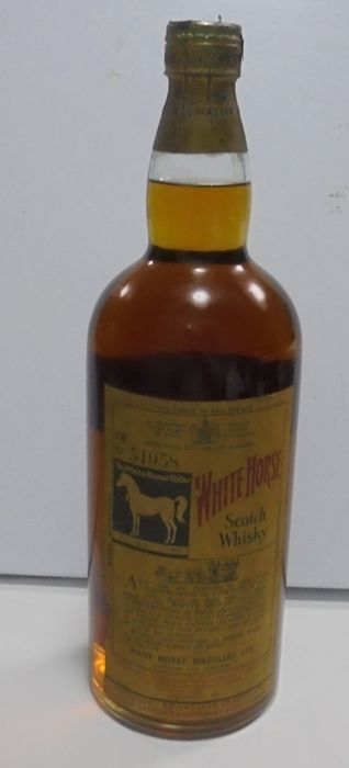 White Horse - Blended Scotch Whisky - 2 Liters - Springcap - 1960s