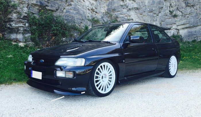 Pictures of escort cosworth