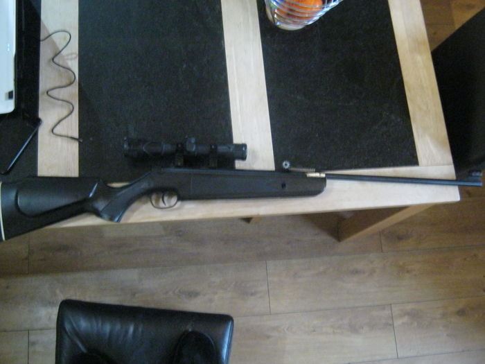 SMK sniper air rifle with Russian vom2 sniper  scope
