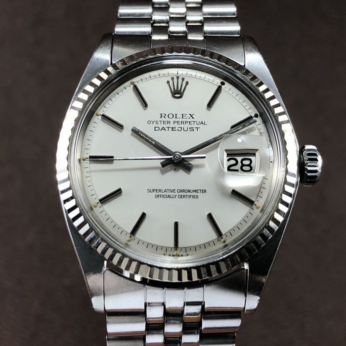 Rolex -  Oyster Perpetual Datejust - Ref.1601 - Men - 1970-1979