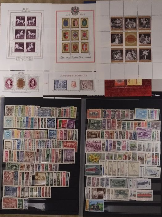 Austria, 1919-2005 - Collection of stamps from the period