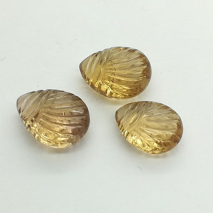 Lot of 3 Ametrines - 15.44 ct