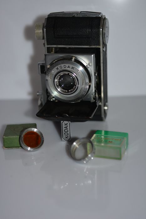 Kodak Retina I (type 010) and 2 filters UV and orange