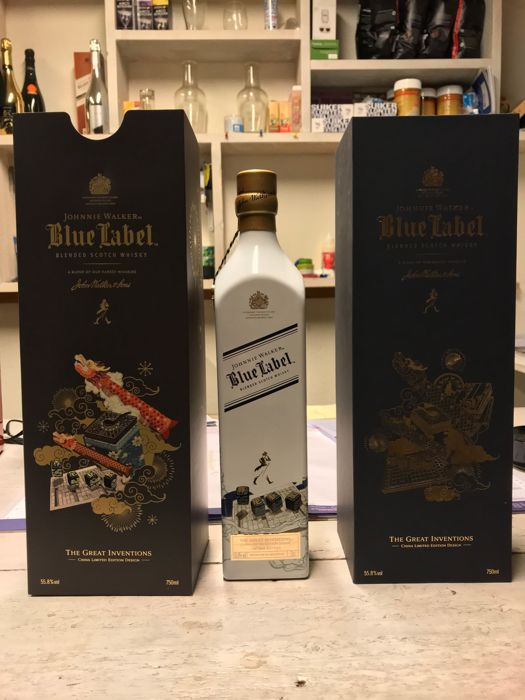 Johnnie walker Blue label Great invention China