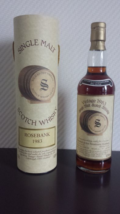 Rosebank 1983 11 years old - Signatory Sherry cask nos. 1668-69