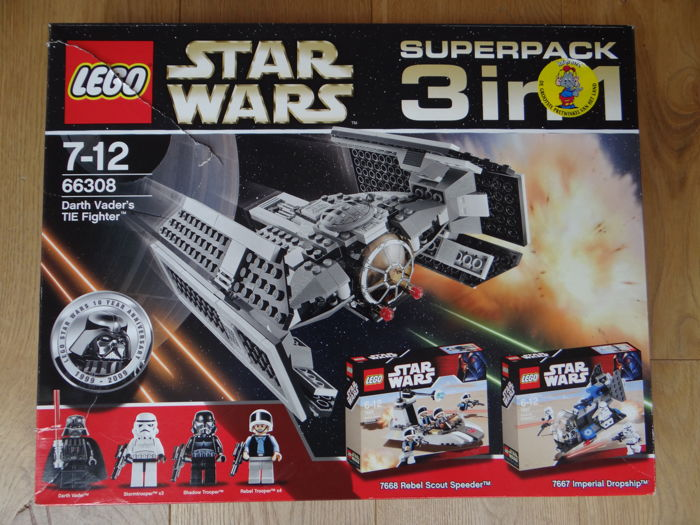 Star Wars - 66308 - 3 in 1 Superpack Collection (7667 + 7668 + 8017)