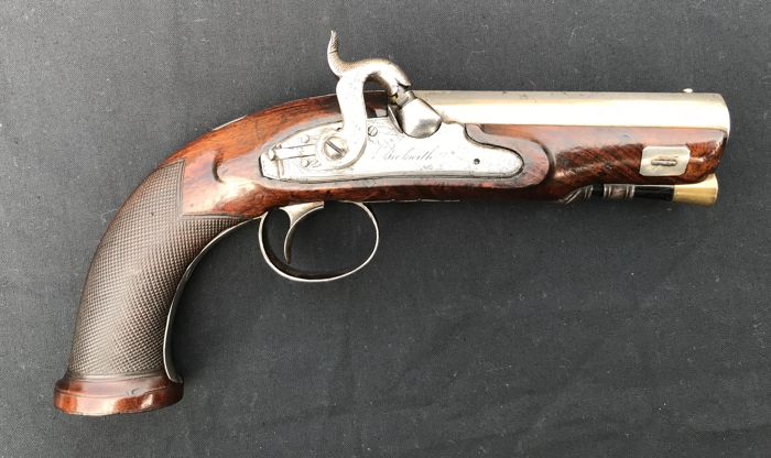 Percussion pistol beckwith London