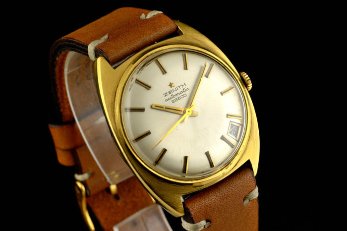 Zenith - Vintage Yellow Gold - 18K Automatic - Heren - 1960-1969
