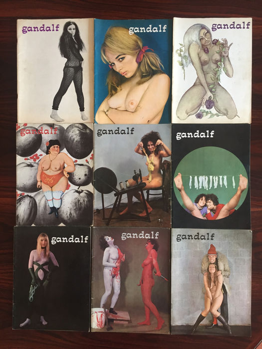 Cult; Gandalf - 9 nummers - 1967/1970