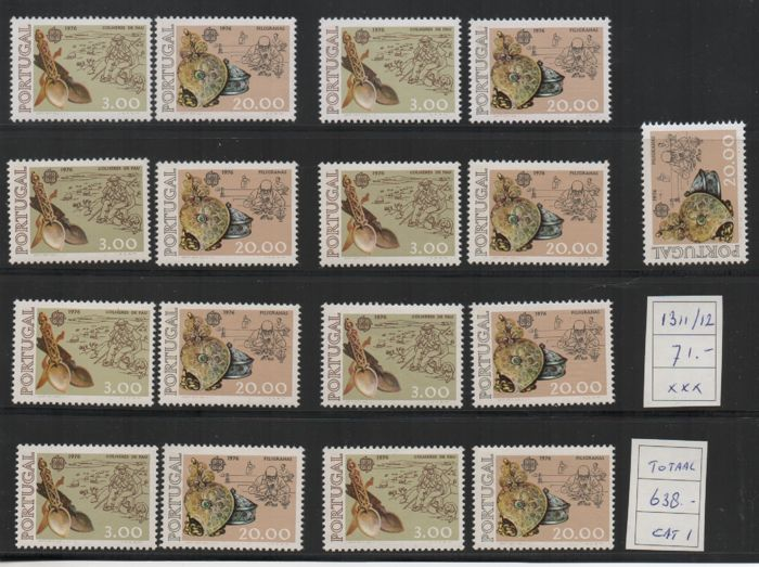 Portugal 1964/1985 - selection Cept stamps, catalogue value €1,783.00