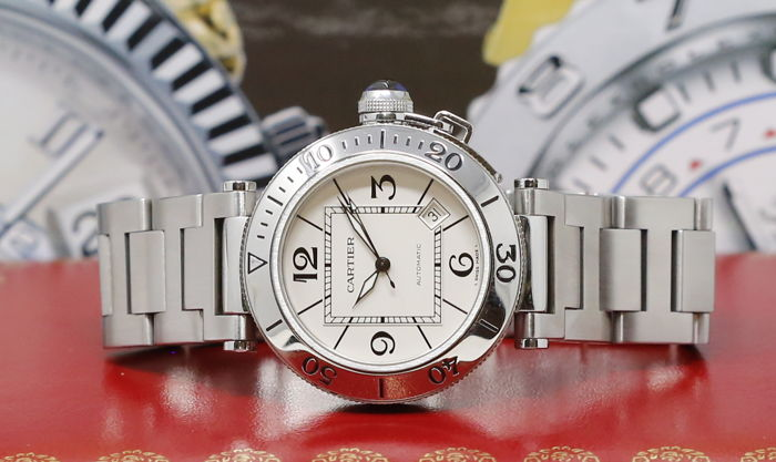 Cartier - Pasha Seatimer - 2790 - Heren - 2000-2010