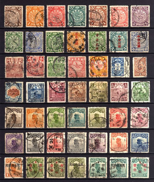 China 1898/1950 - Collection. MH. MNG. Used.