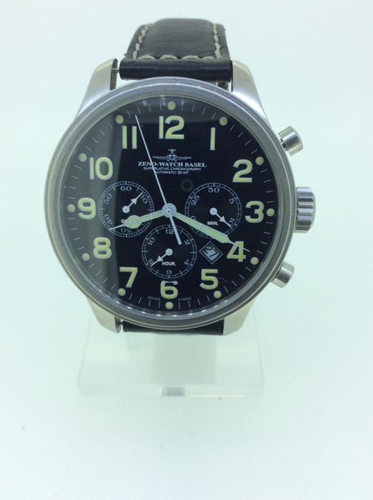 Zeno-Watch Basel - Chronograph  - 8557 - Heren - 2005