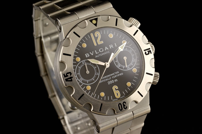Bulgari - Diagono Scuba Automatic Chronometer  - SCB 38 S - Heren - 2000-2010