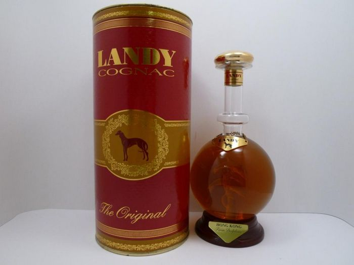 Landy Twin Dolphins Hong Kong Cognac Special Release Decanter