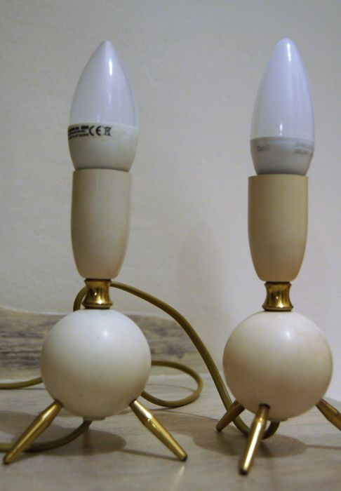Unknown designer – Two Space Age lamps