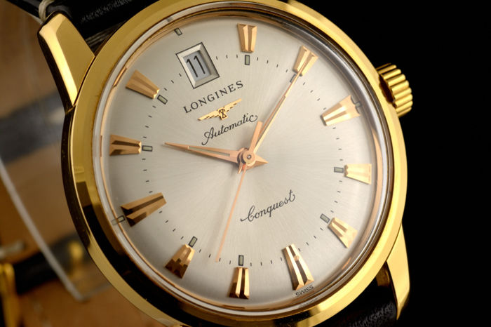 Longines - Conquest Heritage 18k Gold Calendar Automatic - Heren - 2000-2010