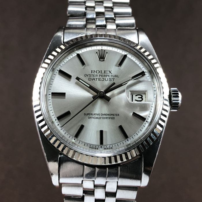 Rolex Oyster Perpetual Datejust Ref 1601 Men 1960 1969 Catawiki