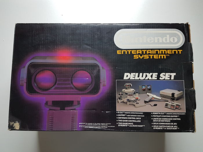 R.O.B. deluxe set - Nintendo NES - Complete in box