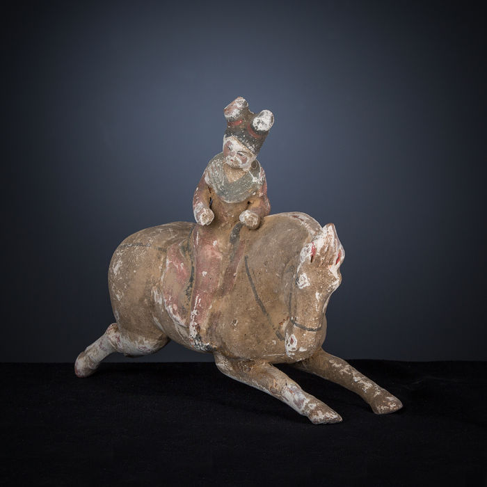 Tang dynasty sculpture, China, 30 cm long x 24 cm high