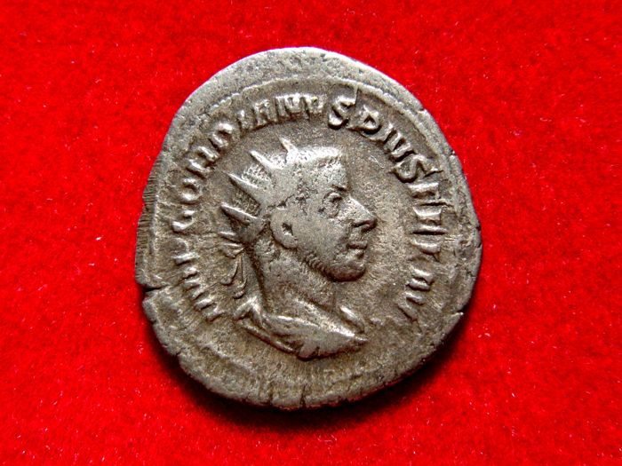 Roman Coin Silver Antoninianus Gordian Iii 238-244 Ad Coins Roman Fortvna Redvx