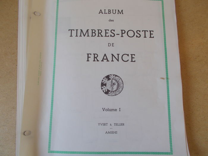 France 1924/1941 - Collection Yvert and Tellier album page
