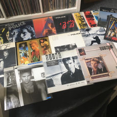 The Police / Sting Lot of 14 albums/maxisingles including two double albums and collectors items live in Germany. Period 1978 till 1987.