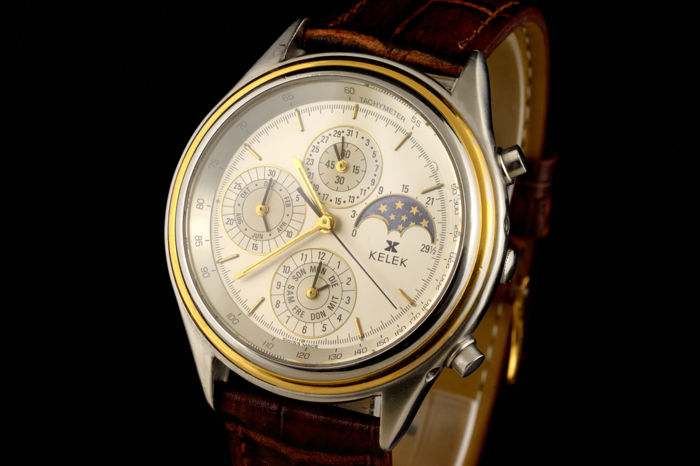 Kelek - Chronographe Full Calendar Moon-phase - Heren - 1960-1969