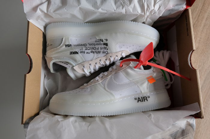 Off White X Nike Air Force 1 Low: The 10 Sneakers Catawiki