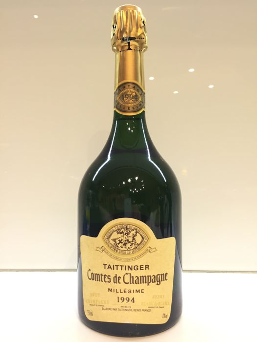1994 Taittinger Comte de Champagne Blanc de Blancs - 1 bottle (75cl)
