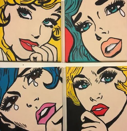 Bientje (Sabine Pimenta) - Pop art Girls