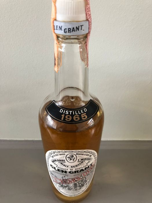 Glen Grant 5 years old - distilled 1965 - 75 cl