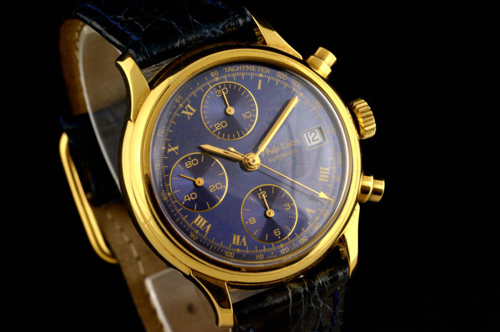 Philip Watch - Automatic Yellow Gold - 18K - Heren - 2000-2010