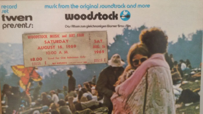 Woodstock Ticket And Music From The Original Soundtrack