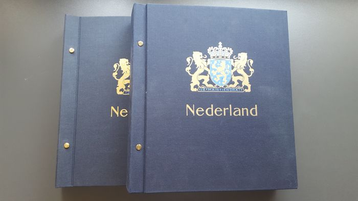Nederland 1940/2001  - Collectie in 2 Davo albums