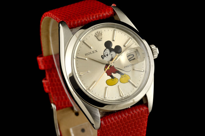 Rolex - Oysterdate Precision Mickey Mouse  - Ref. 6694 - Dames - 1950-1959