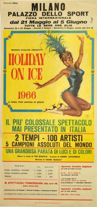 Anonymous - Holiday on Ice, Milano - 1966