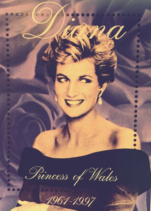 British Commonwealth, Diana Princess of Wales - 1 Album and on sheets