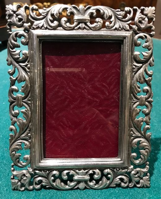 Silver picture frame - early 20th century