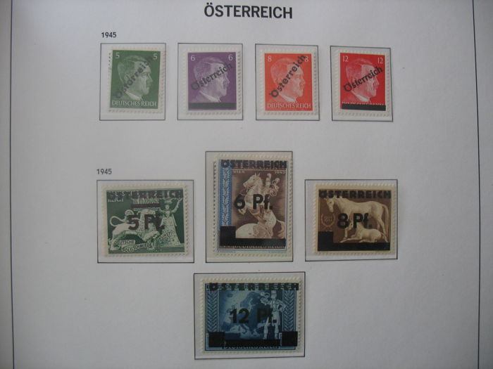 Austria 1945/1969 - stamp collection
