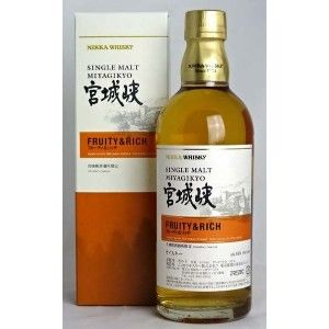 Nikka Whisky -- Miyagikyo fruity and rich - whisky limited edition, 1 bottle 500ml with original box