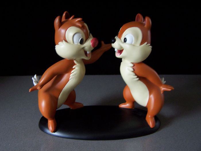 Disney, Walt - Figure - Chip and Dale talking - (2005)